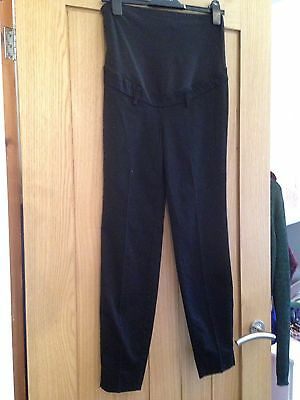 Smart Maternity Black Trousers From H&m Size Small