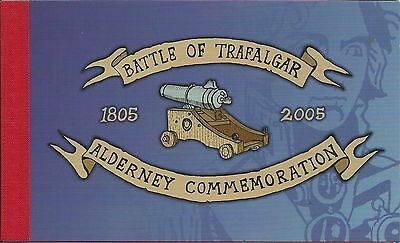 Alderney 2005 Battle of Trafalgar booklet,fine condn.