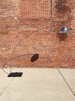 Mid Century | Chrome Arc Lamp | Modern sonneman eyeball c1970 floor