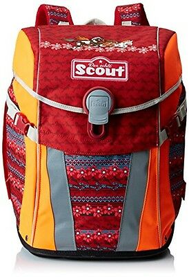 (TG. 41 cm) Scout - Alfred Sternjakob, Zaino casual, rosso (red), 41 cm - NUOVO