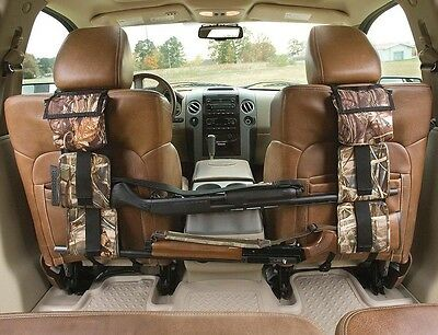 Rifle Shotgun Holder Gun Sling Case Car Rack SUV Seat Pickup Truck Camo Hunting