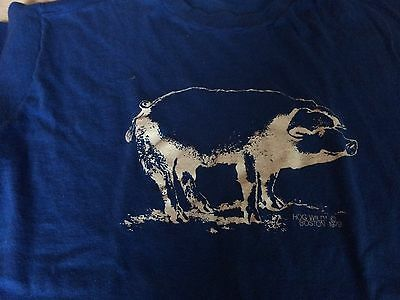 Vintage Hog Wild Boston 1979 T Shirt Mens L