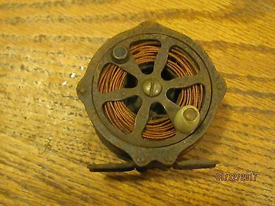 VINTAGE  FLY REEL with Line  Fishing