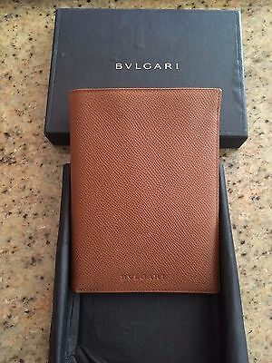 BVLGARI Leather Wallet Brand New in Box