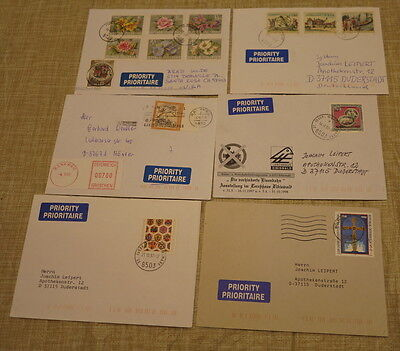 Austria Priority Airmail Cover Lot Late 1990's to 2000 Total of 20
