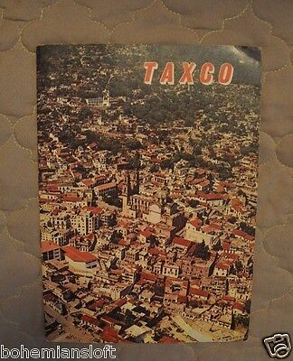 Vintage Taxco Mexico book pamphlet