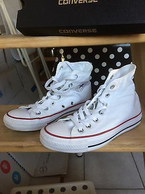 Baskets Converse All Star Montantes Blanches Pointure 37