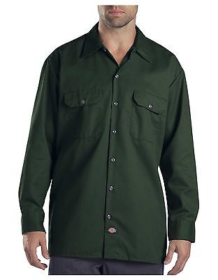 Mens Long Sleeve Dickies Work Shirt Style 574 Multiple Colors Available
