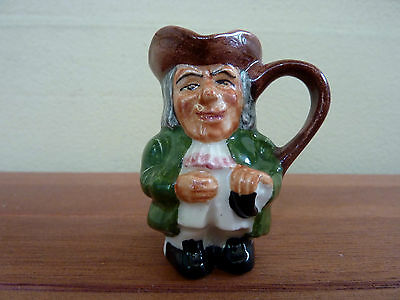 """ARTONE  """"PRIEST""""  Hand Painted Miniature Toby Jug   --  Made in England"""