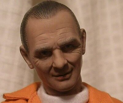 "Rare Custom "" Custom Key"" Silence Of The Lamb Hannibal Lecter DVD 1/6 12' Figure"