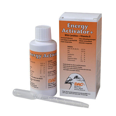 Energy activator 100 ml for Racing Pigeon