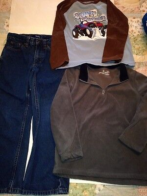 3 pieces of boys clothing size 7