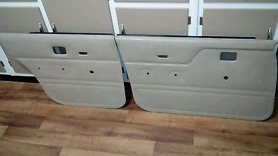 Vh Sl Biege Door Trims Panels Skins Passenger Side Set Holden Commodore