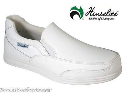 Bowls Shoes - Henselite Victory Slip On - Leather