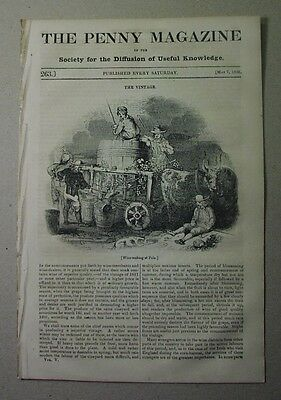 1836: WINEMAKING vintage Bordeaux; Greek & Albanian, costume; PRISON reform