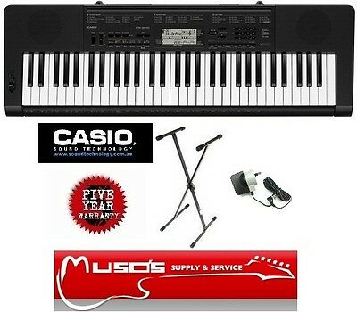 Casio CTK-3200 Digital Keyboard 61key $235 + Postage ($13 for Greater Sydney)