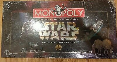 Star Wars Monopoly Board Game-1997-Limited Collector's Edition-New-Sealed