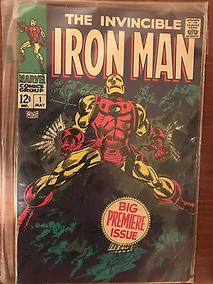 THE INVINCIBLE IRON MAN #1 1st Issue Marvel