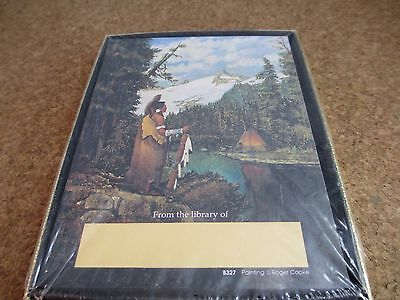 30 Vintage Native American Bookplates Antioch Roger Cooke artist From Library of