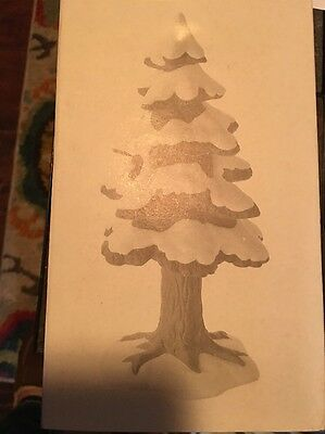 "Dept 56 Heritage Village ""village Porcelain Pine"" - Small - #52191 - New In Box"