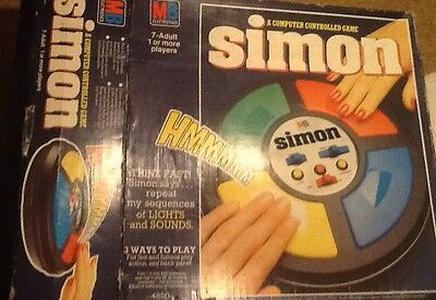 """MB Electronic Orignal """"SUPER SIMON""""  Game from 1978"""