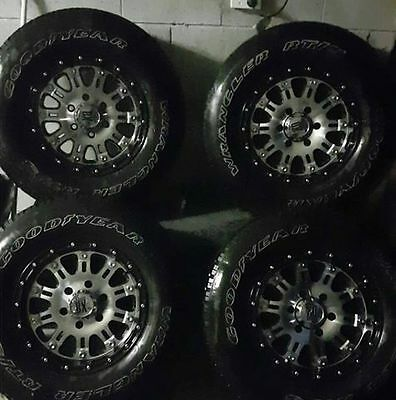 KMC 16X8 tyre and wheel package