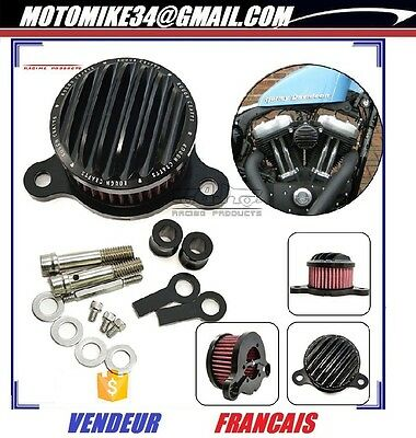 Filtre air d'admission direct Rough Crafts KN Harley Sportster XL883/1200 88 +UP