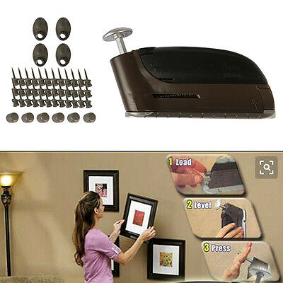 Picture Photo Fitting Hooks DIY Mirror Wall Mounted  Hanging Loops Tool Kit