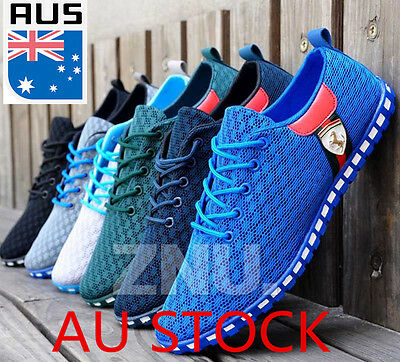 Fashion England Men's Breathable Recreational Shoes Casual Sport Running Shoes
