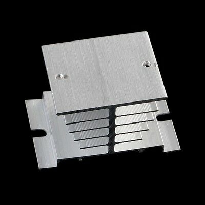 2/5Pcs Aluminum Alloy Heat Sink For Solid State Relay SSR Type Heat Dissipation