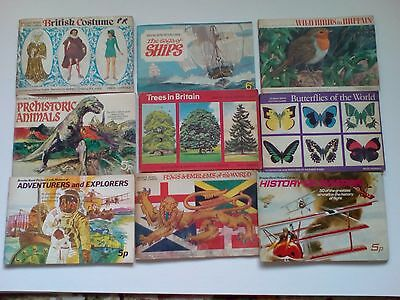 Collectors cards and books, Brooke Bond and many others