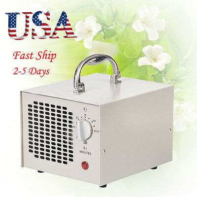 US NEW Commercial Ozone Generator Industrial O3 Air Purifier Deodorize Powerful
