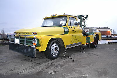 1965 Chevrolet C30 Holmes Wrecker, classic recovery breakdown tow truck