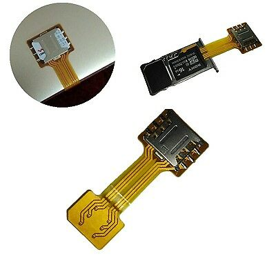 NANO SIM To NANO SIM Card Extender Dual Sim Cards Together With Memory Card Use