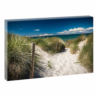 nordsee bild strand meer keilrahmen leinwand poster xxl 120 cm 80 cm 231 eur 32 78 picclick de. Black Bedroom Furniture Sets. Home Design Ideas