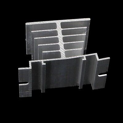 1/2/5x Aluminum Alloy Heat Sink For Solid State Relay SSR Type Heat Dissipation