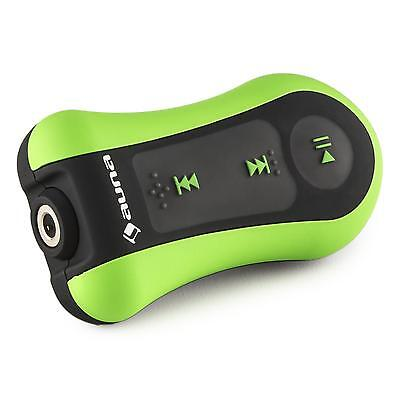 Auna Hydro Waterproof Mp3 Player Portable With Ear Headphones 4 Gb Sports Green