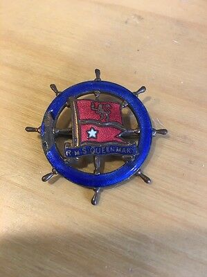 RMS Queen Mary Badge