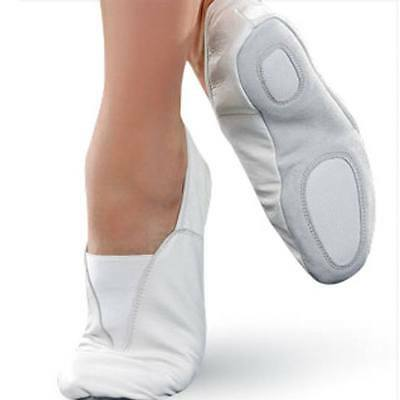 Rubber Sole Gymnastic Shoes Goat Leather Gymnastic Shoe All Size (Capezio Style)