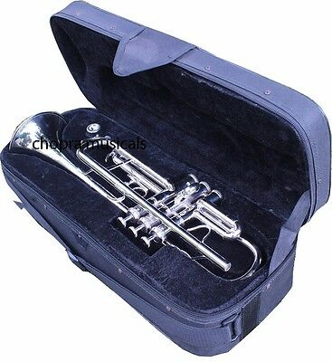 New Year 2017 SALE Trumpet Professional 3V with Hard Case+Mouth Piece Free