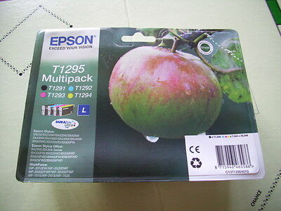 EPSON T1295 Multipack T1291 T1292 T1293 T1294 NEW PaEPSON T1295 Mst Sell By Date