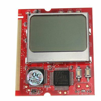 PC LCD Display Motherboard Diagnostic Debug Card Tester Analyzer Laptop PC 13HE