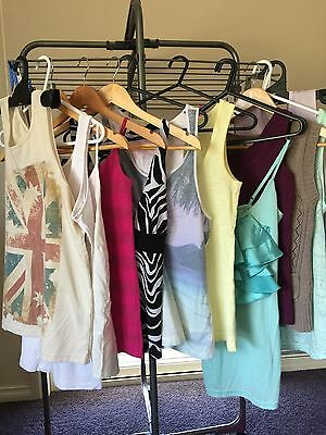 Bulk Lot 12  Ladies Size Small (8) Tshirt/singlet Tops Excellent Condition