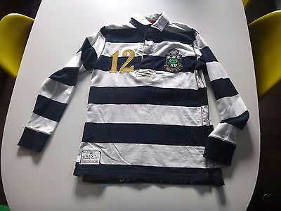 Next rugby style long sleeve top age 11yrs