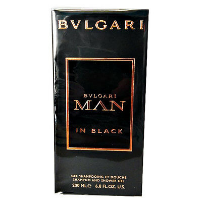 Bulgari Man in black gel doccia e shampoo