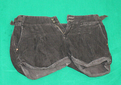 DIESEL Womens Vintage clothing Corded Shorts Size 31 Hs70