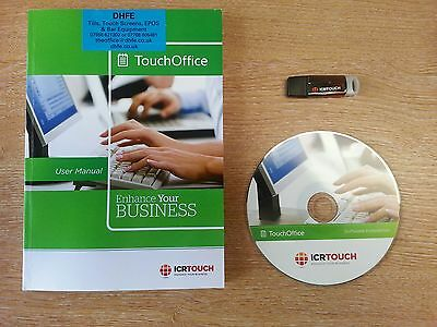 ICR Touch Touch Office Back Office Software including online & phone support