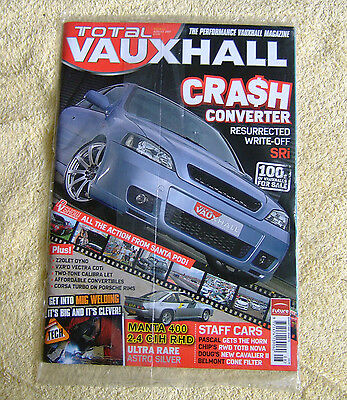 Total Vauxhall Magazine issue 73 August 2007, unopened. Manta 400, PVS report