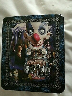 harry potter cards in tin