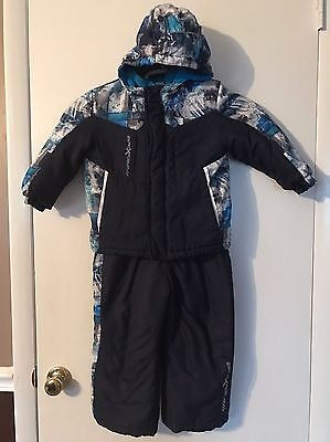 Toddler Boy Coat And Snow Pants Size 4T